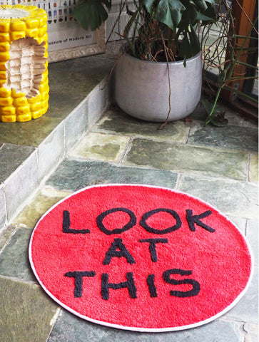 David Shrigley - Look At This Floor Mat