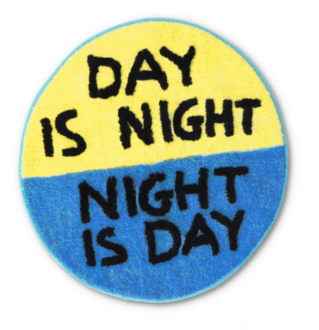 David Shrigley - Day Is Night Floor Mat
