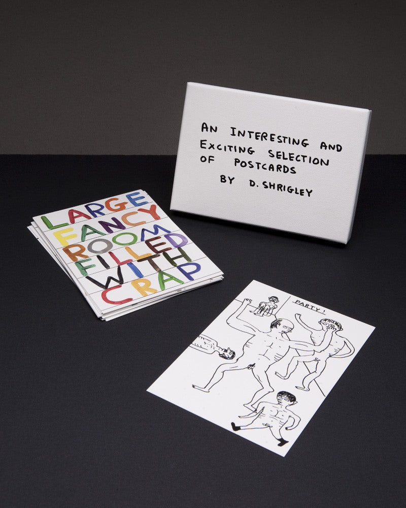 David Shrigley - Postcard Box Set