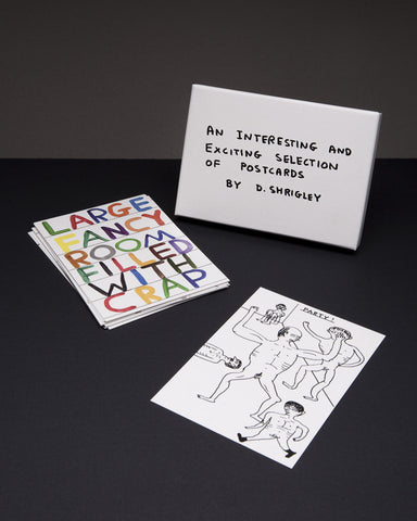 David Shrigley - An Interesting And Exciting Selection Of Postcards