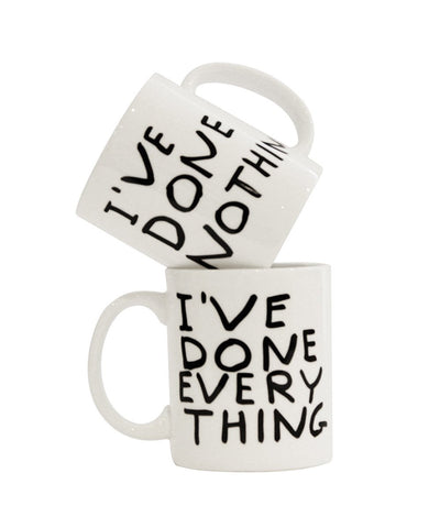 David Shrigley - Done Everything/ Done Nothing Mug