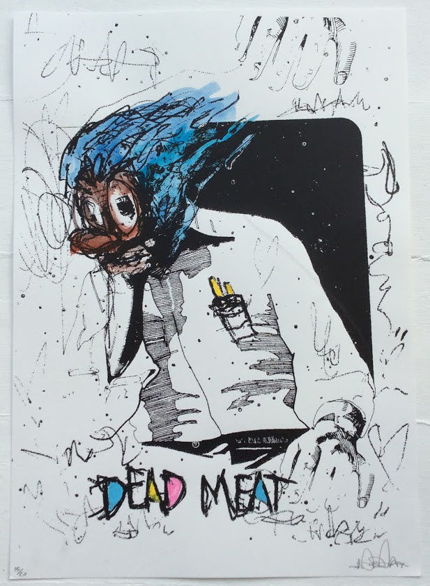 Unknown - Dead Meat Screenprint