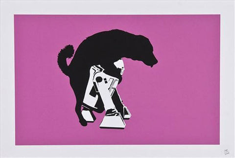 Dolk - Puppy Love - Screenprint Picture On Walls Print