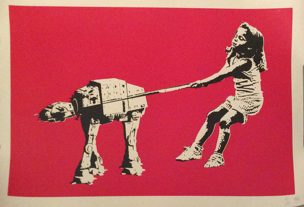 Eelus - Shat-At Star Wars Signed Screenprint - Red