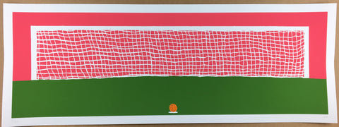 Euan Roberts - 10 Yards From Destiny (Hand-Finished Screenprint)