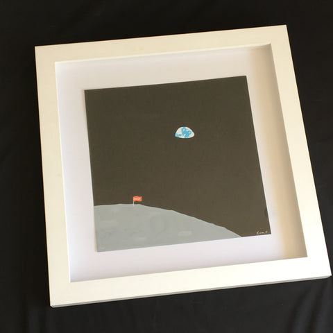 Euan Roberts - Easy Moon - Hand Painted Multiple Signed Edition