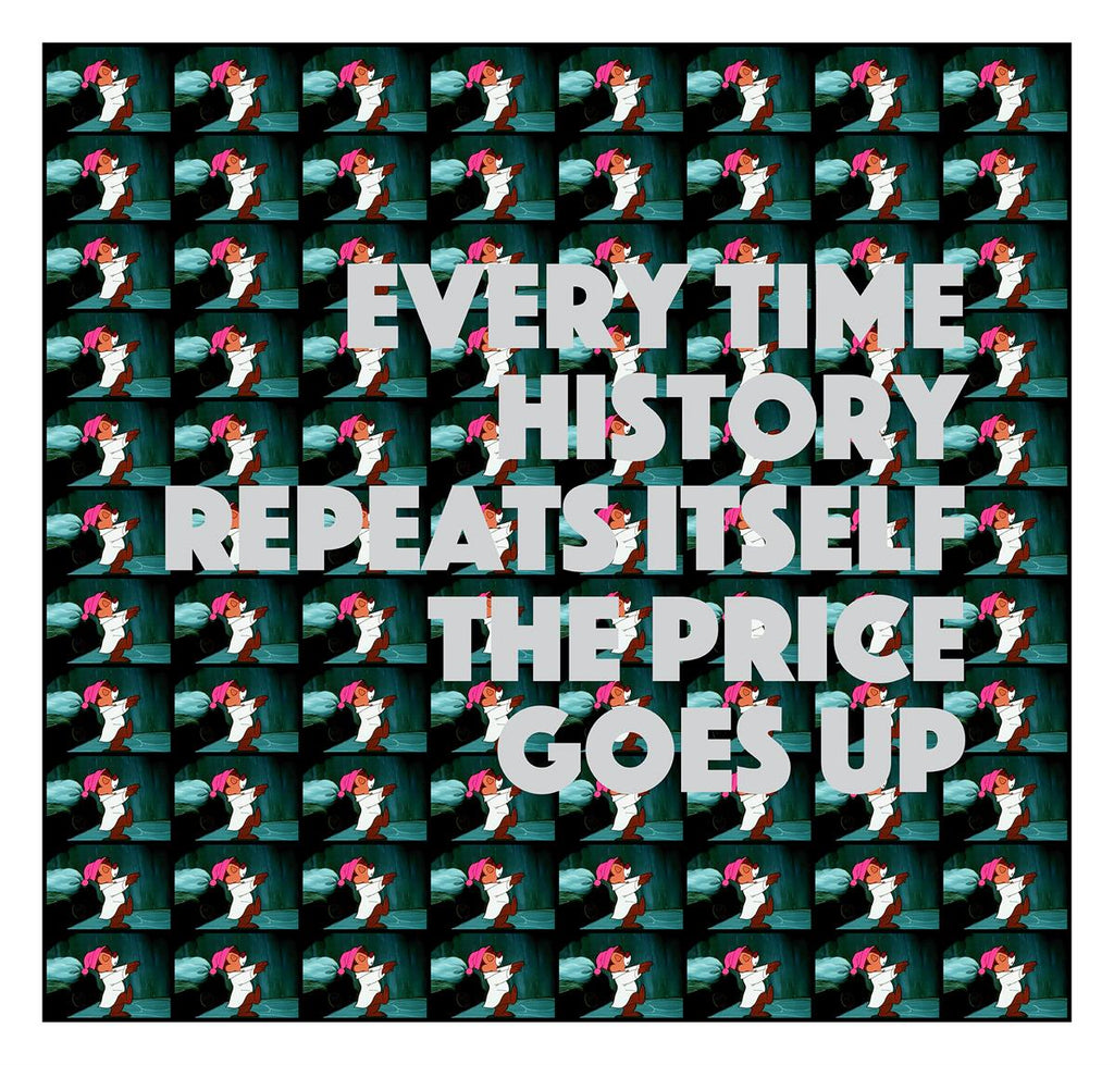 Oddly Head - Every Time History Repeats Itself The Price Goes Up - Signed Limited Edition Print