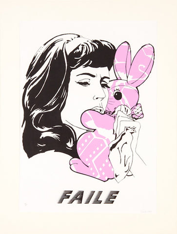 Faile - Bunny Girl - Unsigned Screenprint Pictures On Walls POW