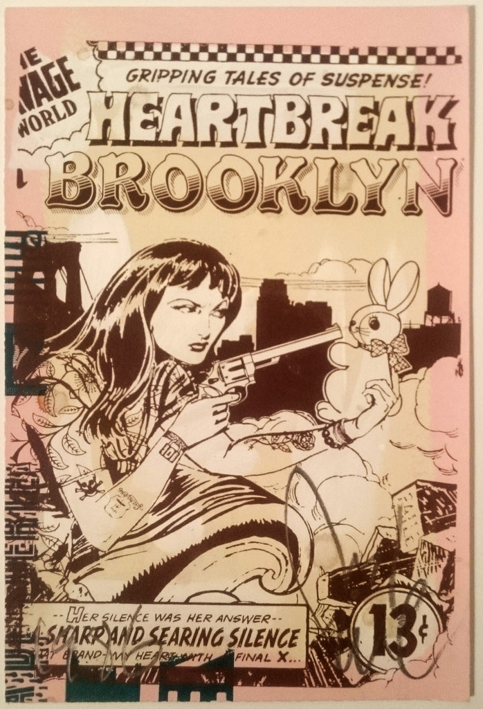 Faile - Heartbreak In Brooklyn - Signed Print / Screenprint