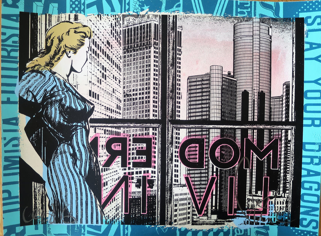 Faile - Signed Modern Living Screenprint