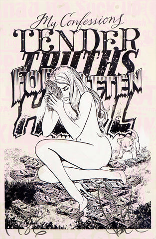 Faile - My Confessions - Signed Varied Edition Screenprint on Paper
