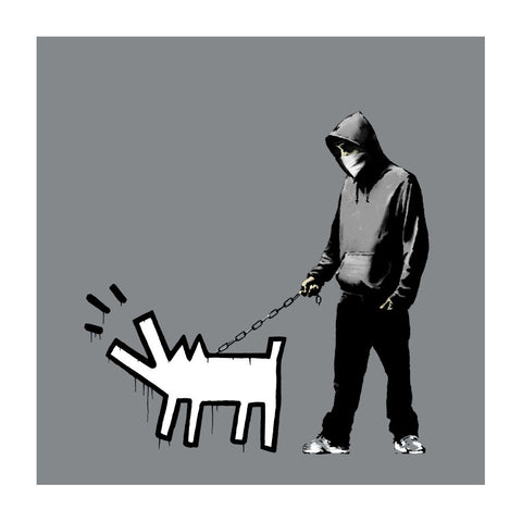 Banksy - Choose Your Weapon (Grey) (Signed)
