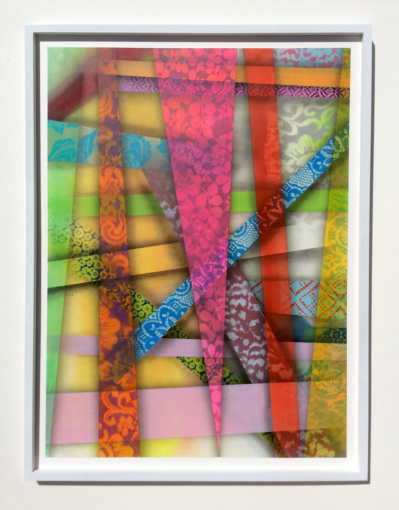Hellbent - Original Painting on Paper - Street Art New York , Brooklyn Graffiti Graffuturism