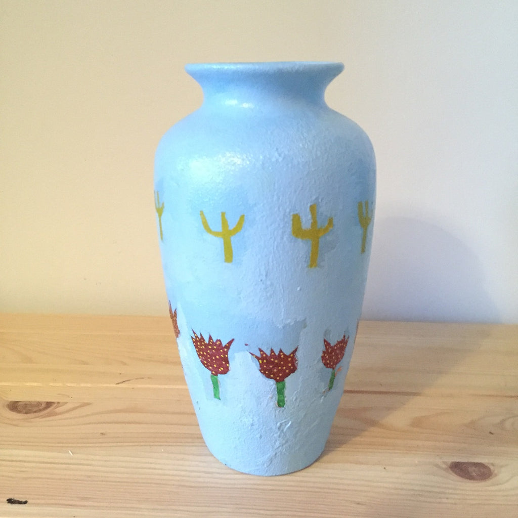 Euan Roberts - Mount Gay & Irn-Bru - Hand-Painted Ceramic Pot
