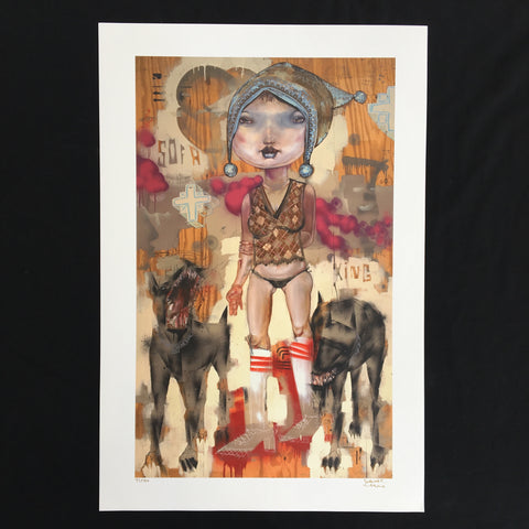 David Choe - Sofa King - Signed Limited Edition Print