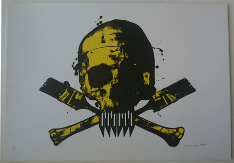 Paul Insect - POW Skull (Yellow)