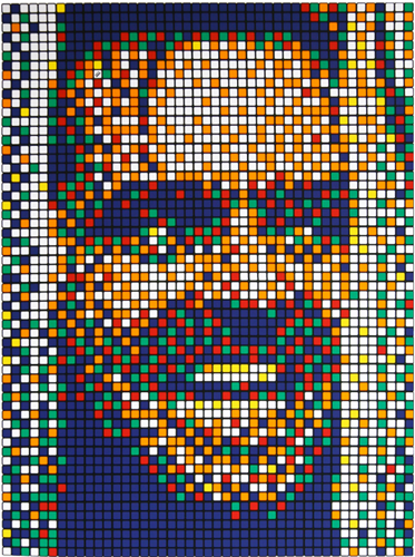 Space Invader - Rubik Kubrick II - Unsigned Print Screenprint Jack Nicholson Shining