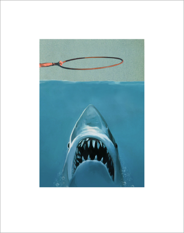 Oddly Head - Jaws Signed Limited Edition Giclee Print