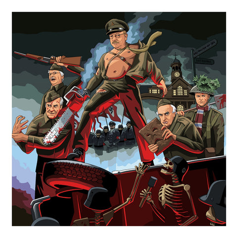 Jim'll Paint It - Dad's Army Of Darkness