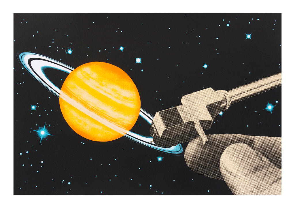 Joe Webb - DJ - Signed Screenprint on Paper