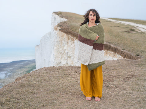 Joseph Ford -   Lo, Beachy Head - Knitted Camouflage