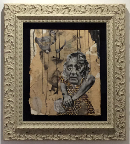 Judith Supine - Untitled #9 (2007) (Framed Original)