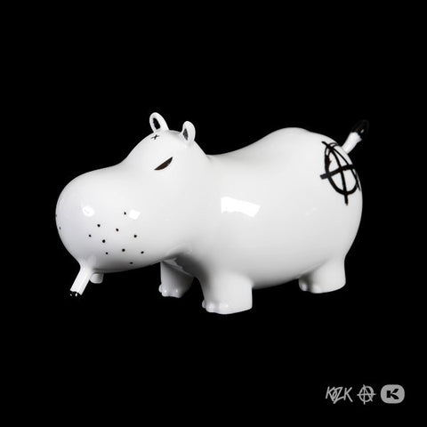 Frank Kozik - Anarchy Potamus (Black)