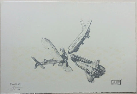 Charming Baker - Airplanes (LA Print)