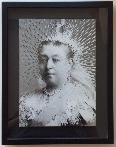 Lola Dupré - Queen Victoria (Framed Original Collage)
