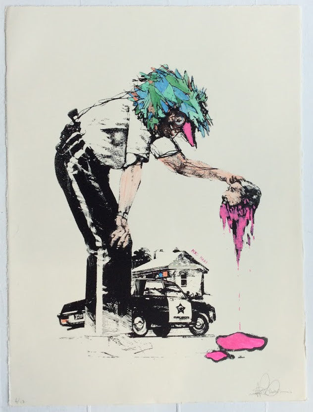 Unknown - Mad Heat Screenprint