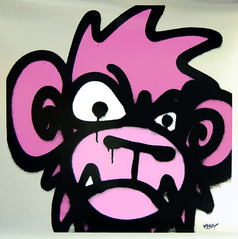 Mighty Mo - Monkey (Pink)