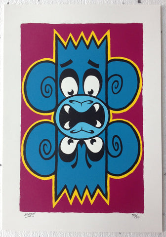 Mighty Mo / Mighty Monkey - Double Trouble Print
