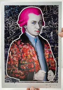 The Postman - Mozart (A3 Hand-Finished Print)