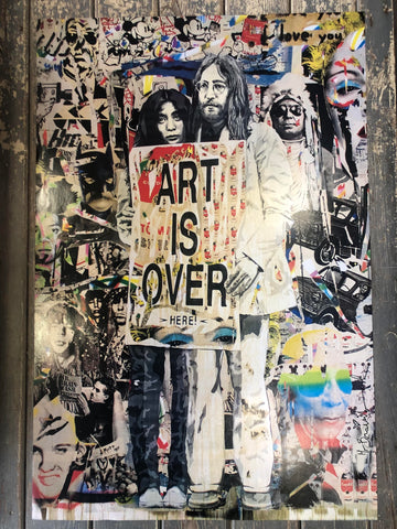 Mr Brainwash - Art is Over Poster
