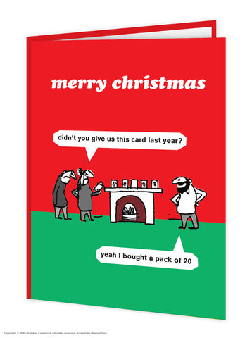 Modern Toss - Christmas Cards ( 15 Different Designs)