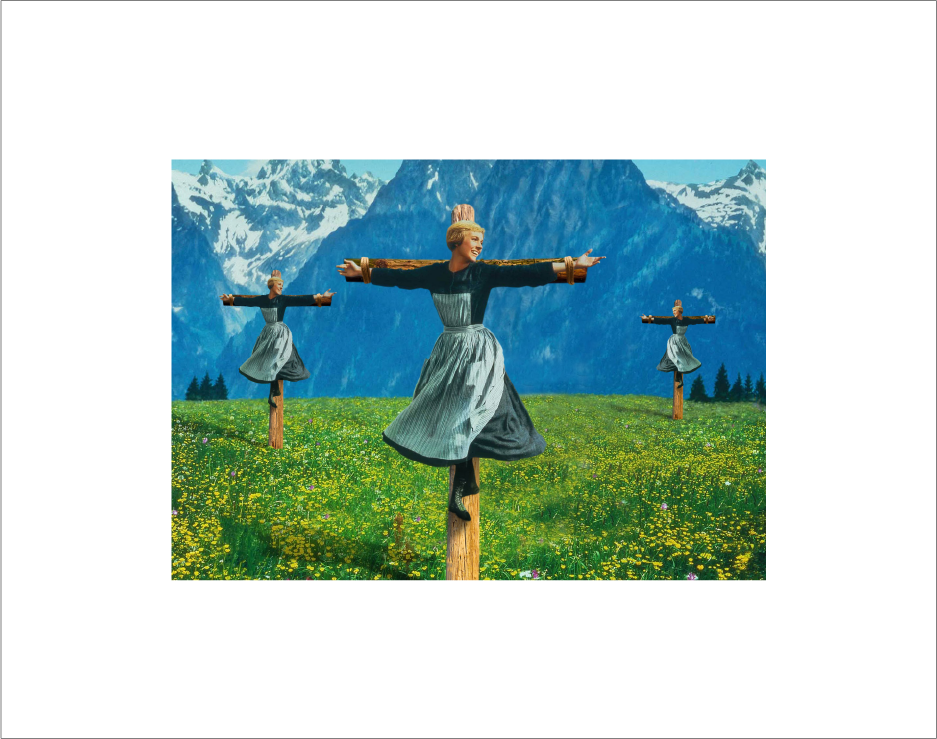 Oddly Head - Sound Of Music Limited Edition Giclee Print