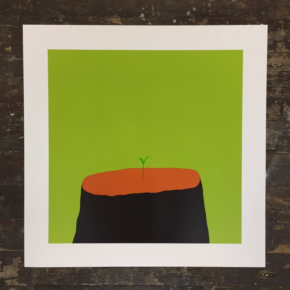 Euan Roberts - New Beginnings - Screen Print