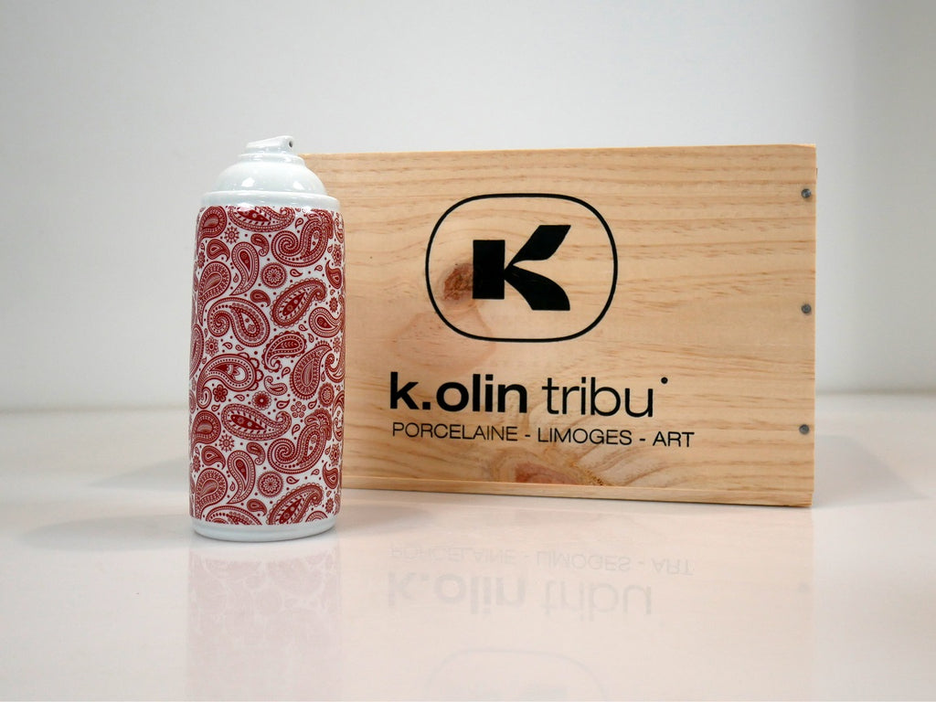 Noon - Spray Can - Porcelain from K.Olin Tribu Red Cashmere