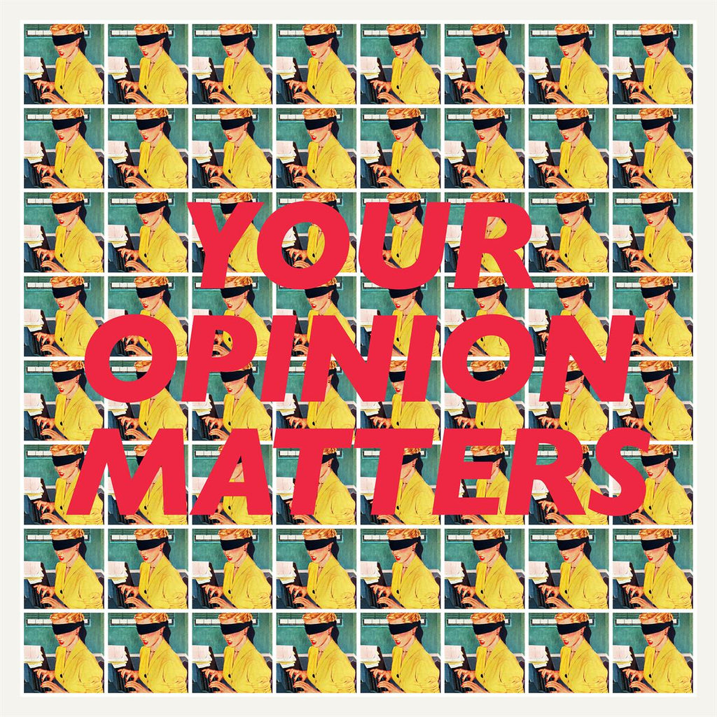 Oddly Head - Your Opinion Matters - Signed Limited Print