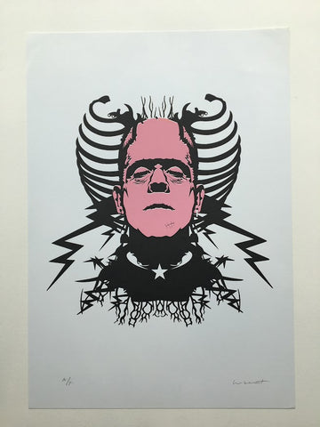 Paul Insect - Frankenstein (Pink Artist Proof)