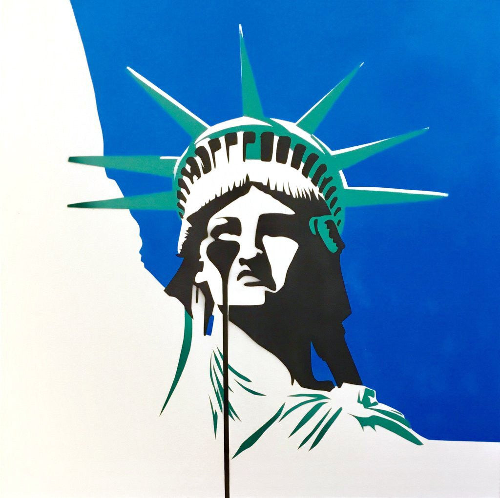 Pure Evil - America's Nightmare Print Statue of Liberty
