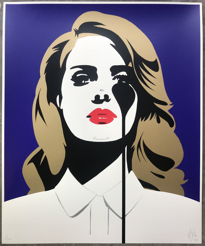 Pure Evil - Lana Del Rey's Nightmare - Signed Screenprint