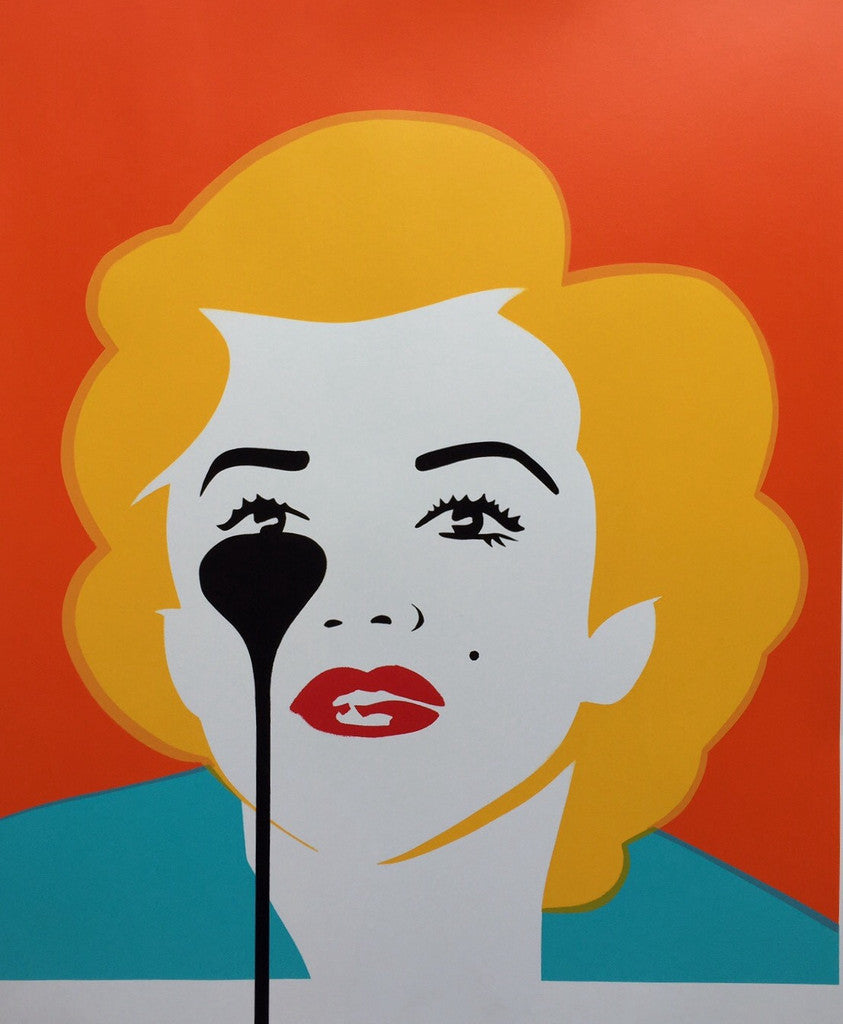 Pure Evil - The Last Marilyn Monroe Print / Screenprint