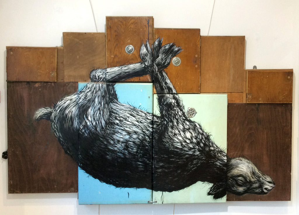 ROA - Ovis Aries (Original Painting)