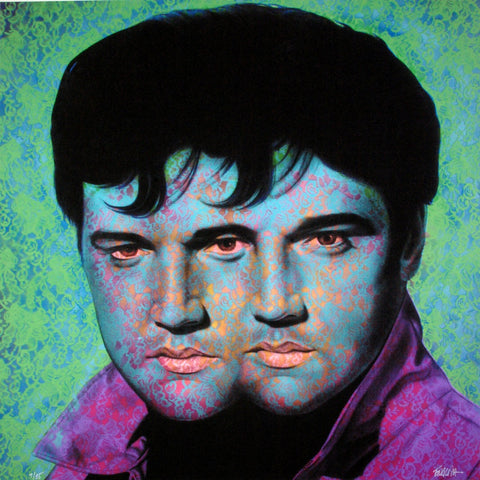 Ron English - Elvis Elvis #3