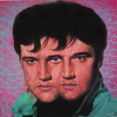 Ron English - Elvis Elvis #4