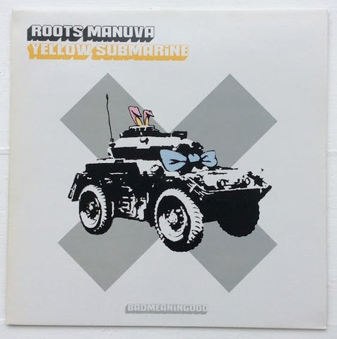 Banksy - Roots Manuva / Yellow Submarine - Official Record Sleeve