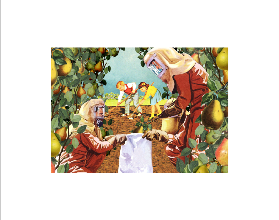 Oddly Head - Scrumping Signed Limited Edition Giclee Print