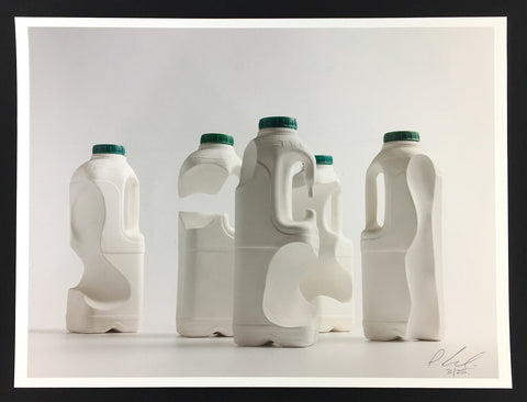 Simon Shepherd - Split Milk (Signed Print) - Brighton Sculpture Ceramic