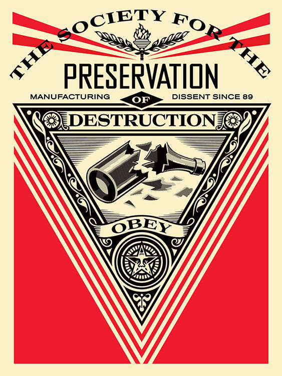 Shepard Fairey - Society Of Destruction